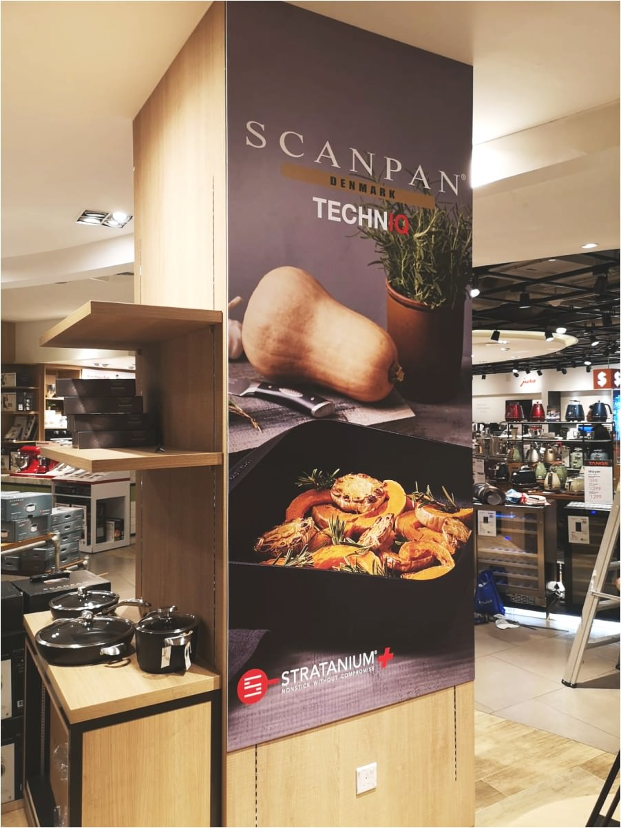 Foamboard for Scanpan