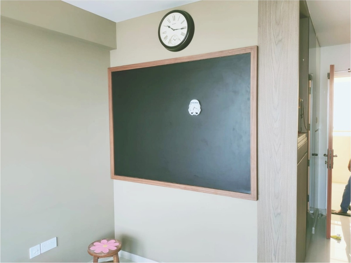 Magnetic wooden board 1.5mL x 1.2mH