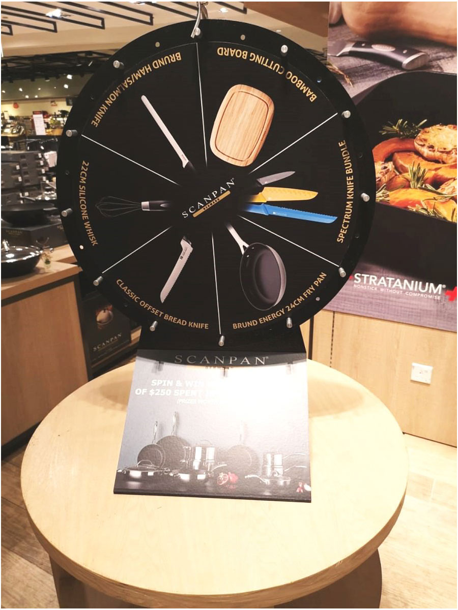 Wheel of Fortune for Scanpan