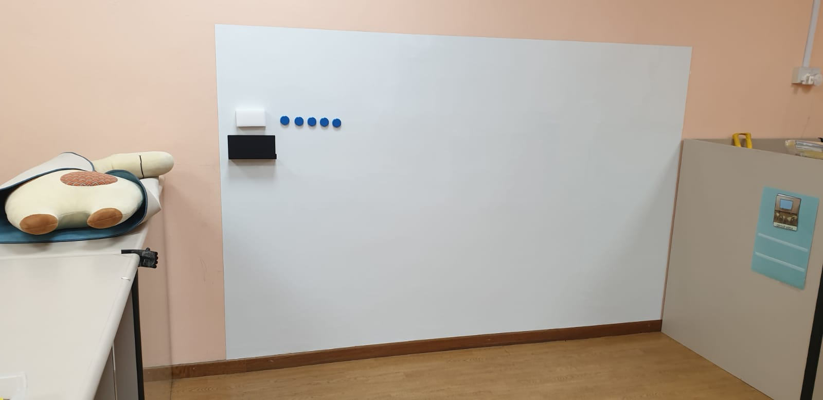 Visual Magnetics Whiteboard at Child Care Centre