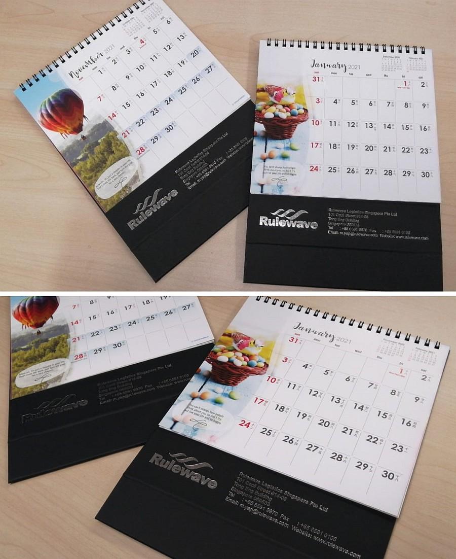 Calendar printing Singapore
