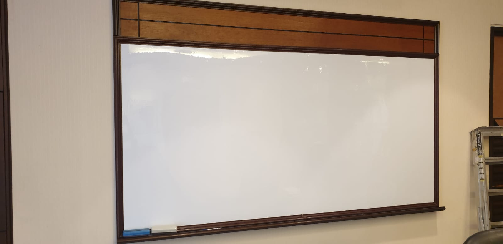 Conversion of traditional whiteboard to GD Magnetic Whiteboard