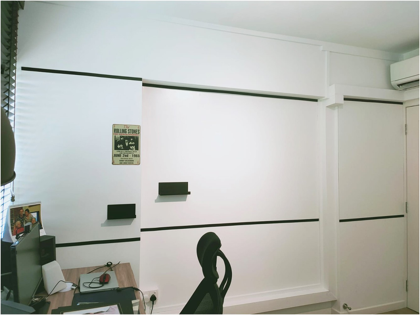 GDMag Matte Whiteboard with black border at Residential